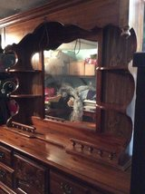 Dresser with matching chest solid wood in Fort Polk, Louisiana