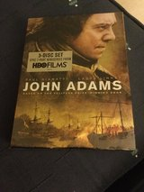JOHN ADAMS DVD  3 disc set  NEW in plastic in Okinawa, Japan