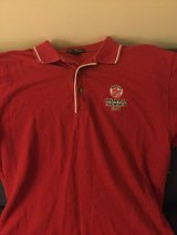 2004 RED SOX  WORLD SERIES POLO SHIRT  size medium?  Men's USED in Okinawa, Japan
