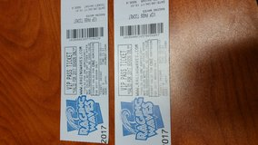 1 Raging Waves Ticket $15 in St. Charles, Illinois
