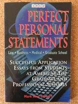 Book: Perfect Personal Statements in Stuttgart, GE