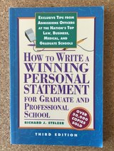 Book: How to write personal statement 3rd Edition in Stuttgart, GE