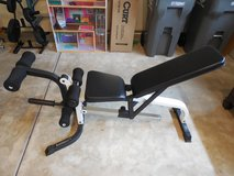 """NEW PRICE!!!!!"""" Power House"""" Weight and Leg Extension Adjustable Bench in Oswego, Illinois"""