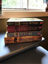 Set of 4 books, Author Chris D'Lacey, Dragon Series in Bartlett, Illinois