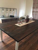 Handmade wooden table. in Los Angeles, California