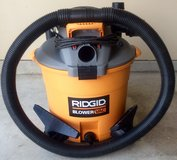 RIDGID 16 Gallon Wet/Dry Vac with Detachable Blower in Oceanside, California