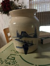 Ceramic Crock with lid and spigot in Kingwood, Texas