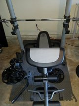 Gold's Gym weight bench in Fort Meade, Maryland