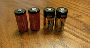 Set of 4 - 123 Lithium Batteries - Unused - 100% Fully Charged in Kingwood, Texas