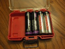 Set of 4 - 18650 Li-ion Rechargeable Batteries - 3.7 Volt in Kingwood, Texas