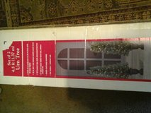 set up to 4.5 fern trees pre-lit new in box in Lawton, Oklahoma