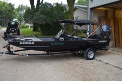 2007 Flat Bottom Boat w/ 90HP Yamaha Engine EXTRAS! in St. Charles, Illinois