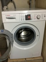 Bosch Washer and Dryer in Ramstein, Germany