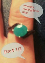Women's Sterling Silver Ring Size 8.5 in bookoo, US
