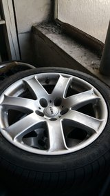 BMW E39 5 Series 17 inch Rims and Tires in Ramstein, Germany