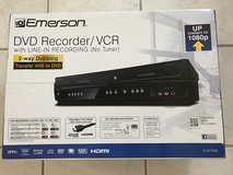Emerson ZV427EM5 DVD/VCR Combo DVD Recorder and VCR Player With HDMI 1080p DVD/VHS, Progressive ... in Oceanside, California