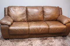 Leather Sofa Bed in Kingwood, Texas