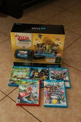 Nintendo WII U Zelda Wind Waker Limited Edition with 6 Games in Nellis AFB, Nevada