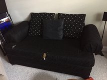 Black Sofa (2 seater) in Plainfield, Illinois