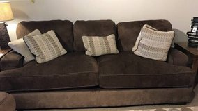 Ashley furniture couch with pillows in Clarksville, Tennessee