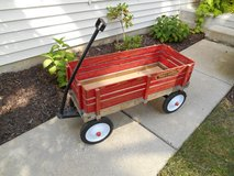 Radio Flyer Town and Country Kids Wooden Wagon in Naperville, Illinois