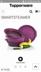 Tupperware Smartsteamer - Green in Sugar Grove, Illinois
