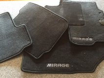 Mitsubishi Mirage Floor mats in Naperville, Illinois