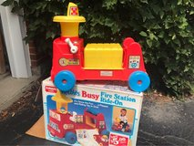 Playskool Busy Ride on Fire truck in Chicago, Illinois