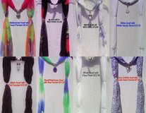 NEW Handcrafted SCARF NECKLACES in Oceanside, California