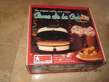 (NEW) Munsey-CONE-DE-LA-CREME-Waffle-Ice-Creme-Cone-Maker-New-Sealed (Made In America) in Vacaville, California