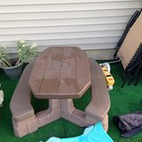 kids picnic table in Chicago, Illinois