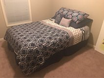 queen bed set in Fort Campbell, Kentucky