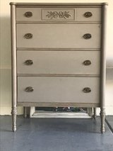 Antique Dresser and Nightstand Shabby Annie Sloan Chalk Paint in Las Vegas, Nevada