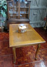 Chippendale Solidwood Extendable Dinner Table in Ramstein, Germany
