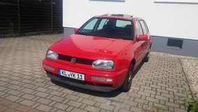 Volkswagen Golf- Passed Inspection today! in Ramstein, Germany
