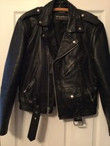 ladies leather biker coat in Palatine, Illinois