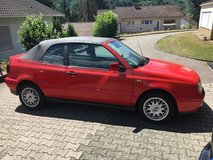 VW Golf convertible in Ramstein, Germany
