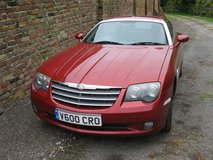 BEAUTIFUL CHRYSLER CROSSFIRE MET RED AUTO 3.2 Mercedes V6 engine 2750.00 pounds or dollar. eqiv. in Lakenheath, UK