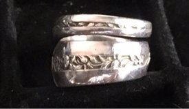 handcrafted Sterling Silver Fork Ring in Greensboro, North Carolina