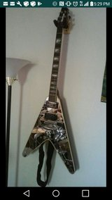 WASHBURN KISS PAUL STANLEY MIRROR GUITAR! in Fort Bliss, Texas