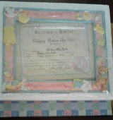 Baby Ceramic Picture Frame in Sandwich, Illinois