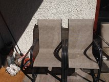 Patio chairs, set of 2 for $20.00. in Stuttgart, GE
