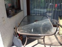 Patio Table $25.00. in Stuttgart, GE