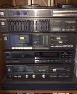 Technics Stereo System and 2 AME Speakers in Yorkville, Illinois