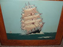 """LEATHER PAINTED """"SHIP"""" in Camp Lejeune, North Carolina"""