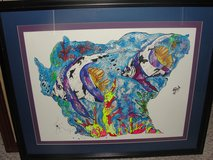 "BEAUTIFUL ""OCEAN FISH"" FRAMED ART in Camp Lejeune, North Carolina"