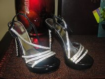 SPARKLE SPARKLE STILETTO HIGH HEELS SIZE 7.5 / 8 EURO SIZE 38 in Camp Lejeune, North Carolina