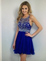 NEW- Homecoming A-Line/Princess Sleeveless Scoop Beading Chiffon Short/Mini Dress in Naperville, Illinois