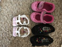 Size 4 toddler shoes in Rolla, Missouri