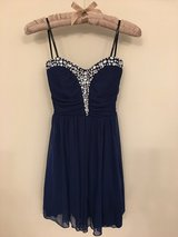 NEW-Homecoming A-Line/BLUE Sleeveless Short/Mini Dress Size 3 in Naperville, Illinois